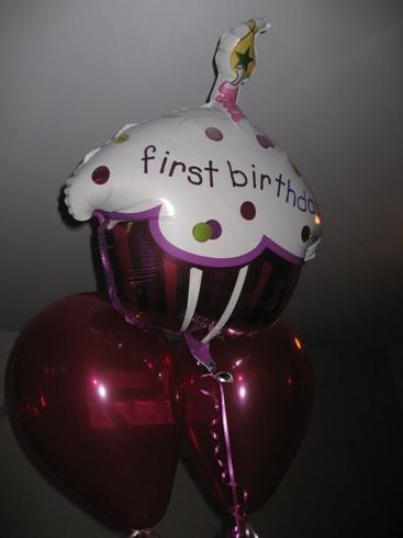 Cupcake Balloons
