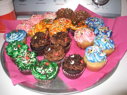 Finally, The Cupcakes